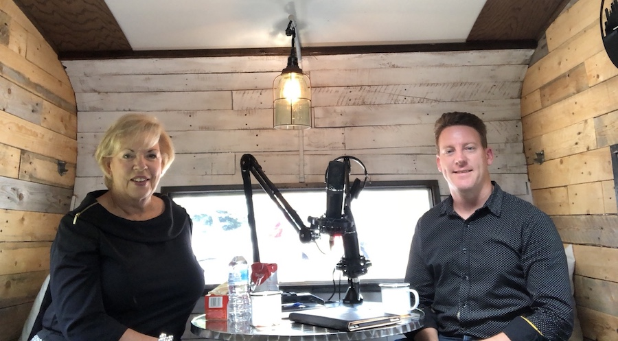 Episode 21 – Diane Hayes joins me in the Rambler!